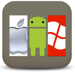apple, android and windows
